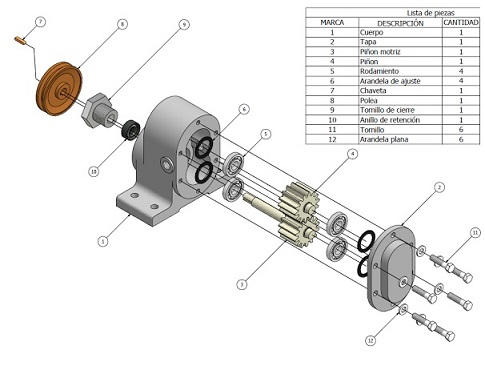 plano para fabricacion gesti n y dise o del metal